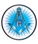 SQ & C - All-Seeing Eye Masonic Car Decal