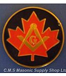 Canadian Masonic Car Decal